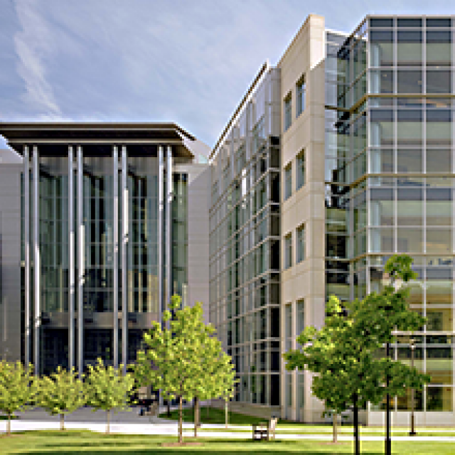 Buildings on campus in which the Core Research Facilities are located